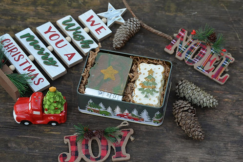 Holiday themed gift set