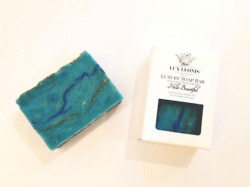 Hello beautiful, a white wine soap