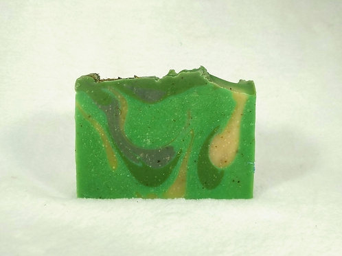 Fresh & Cool, a luxury soap bar with menthol and goat milk
