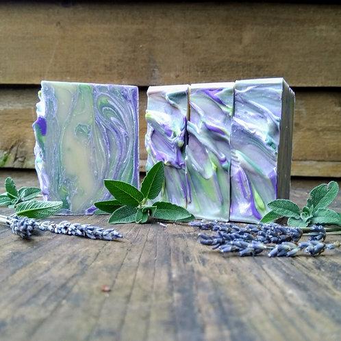 Polish Herbalist: lavender, sage, rosemary