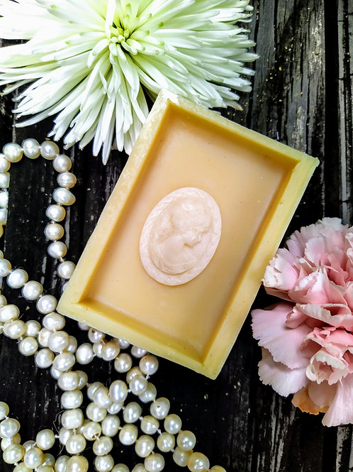 Timeless Lady in Cameo Goat Milk Soap