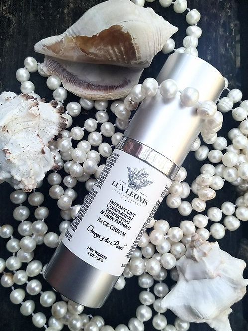 Instant Lift, firming Omega 3+ Pearl face cream