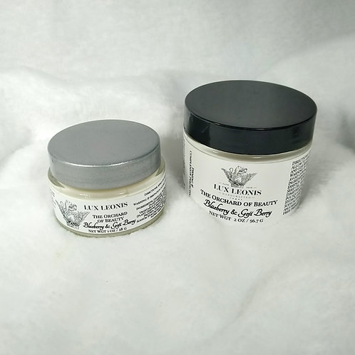Firming and Complexion Perfecting Facial Cream: Blueberry & Goji Berry