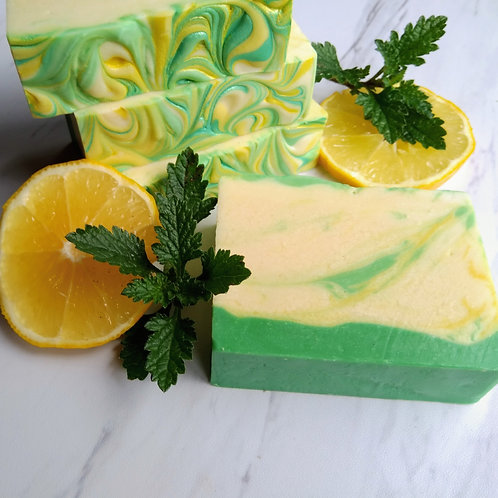 Lemon Verbena, Handmade Soap with Goat Milk and Honey