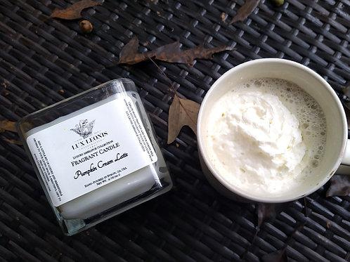 Pumpkin Cream Latte classic two wick Candle