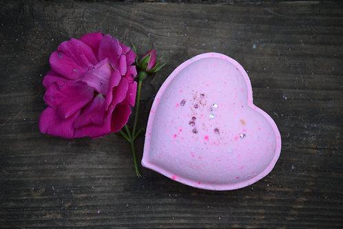 Heart of Wild Rose Bath Bomb