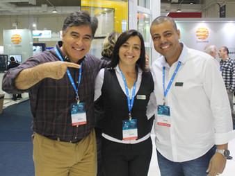 Central do Vidraceiro e sua equipe marcam presença na feira Glass South America 2016