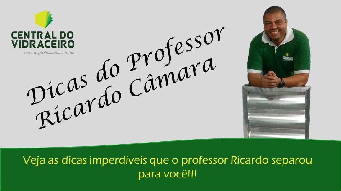 Dicas do Professor Ricardo Câmara: Porta Vision da Ideia Glass com Vidro Quadrato da UBV Vidros