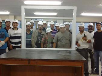 Primeira turma ministrada pela equipe de professores do SENAI de Pernambuco - Treinada pela Central