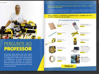 Prof. Ricardo Câmara dá dicas de ferramentas para quem vai iniciar no ramo de Vidro Temperado