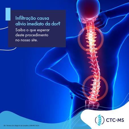 Quais os benefícios de infiltrar a coluna? | CTC-MS