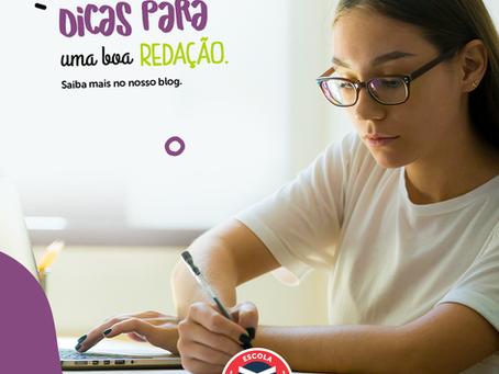 Dicas para uma boa redação | Escola Mappe