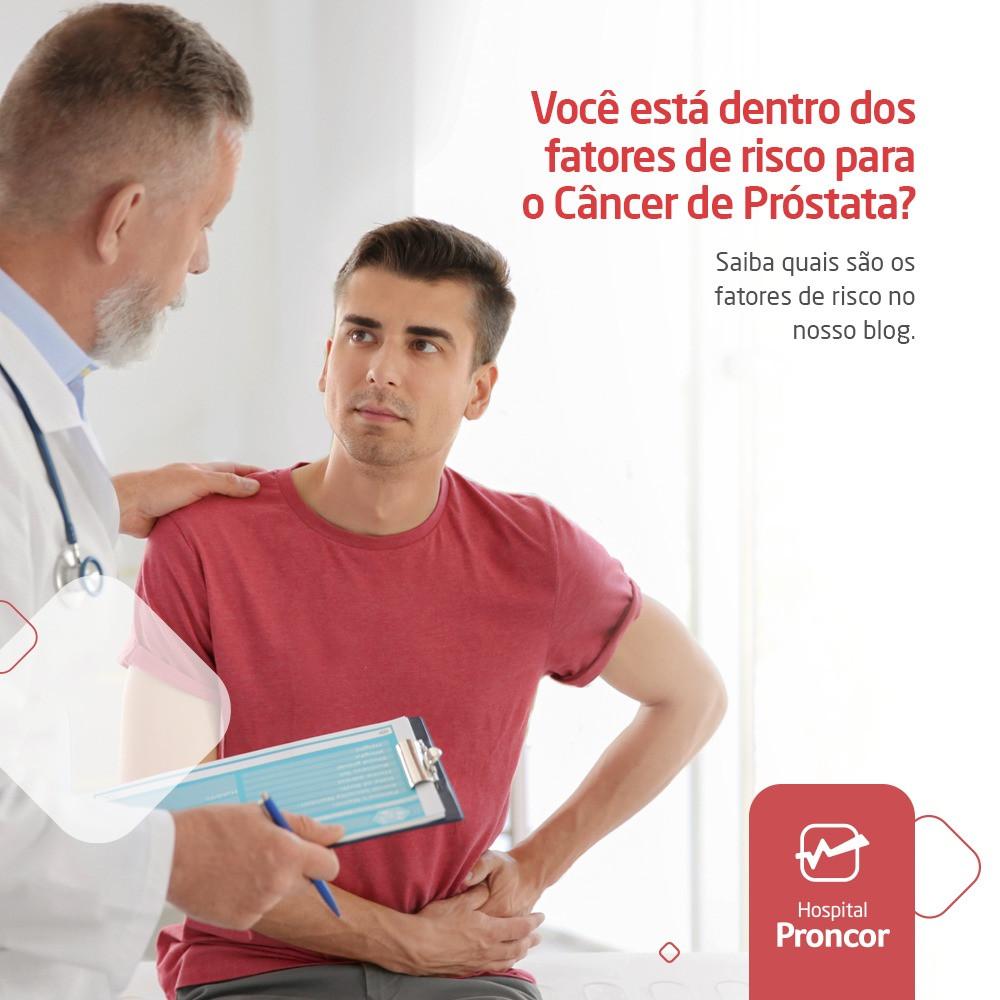 Cancer de prostata em pacientes jovens