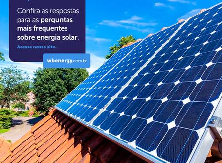 Perguntas Frequentes | WB Energia Solar