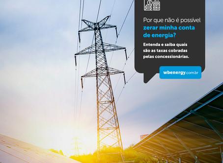Por que não é possível zerar minha conta de energia? | WB Energia Solar