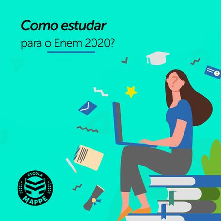 Como estudar para o Enem 2020 | Escola Mappe