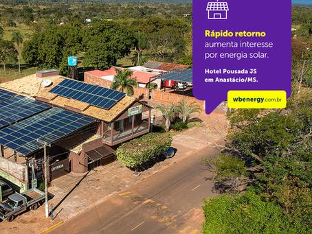 Rápido retorno sobre o investimento aumenta o interesse por energia solar | WB Energia Solar