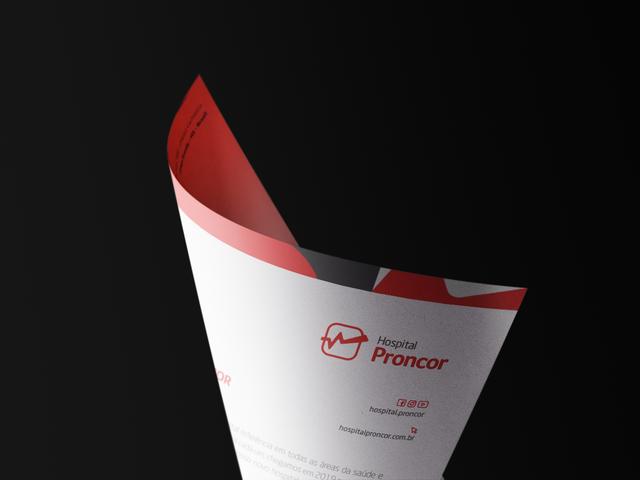Hospital Proncor - Marca e Identidade Visual criada por José Alcânttara