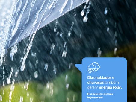 Entenda como a energia solar funciona e o quanto ela é eficiente em dias chuvosos | WB Energia Solar
