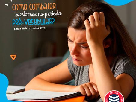 Como combater o estresse no período pré-vestibular? | Escola Mappe