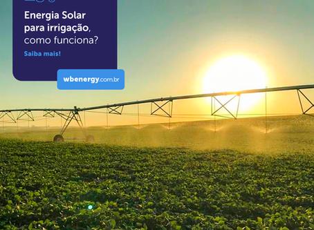 Energia Solar Para Irrigação | WB Energia Solar