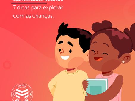 Curiosidade infantil: 7 dicas para explorar com as crianças | Escola Mappe