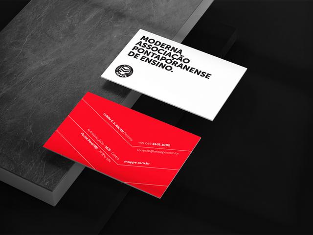 Escola Mappe - Marca e Identidade Visual criada por José Alcânttara