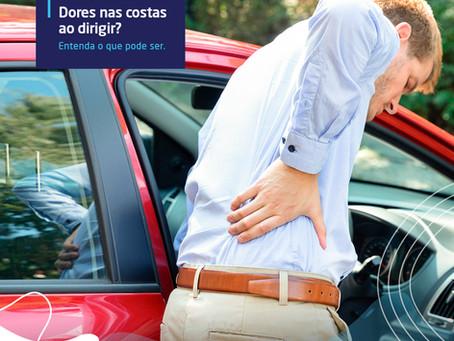 Dores nas costas ao dirigir? Entenda o que pode ser | CTC-MS