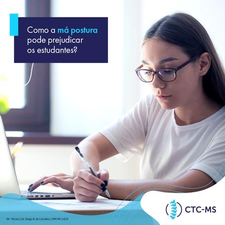 Como a má postura pode prejudicar os estudantes | CTC-MS