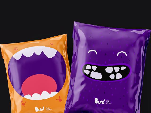Loja Buh! - Marca e Identidade Visual criada por José Alcânttara