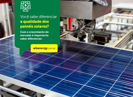 Você sabe diferenciar a qualidade dos paineis solares? | WB Energia Solar