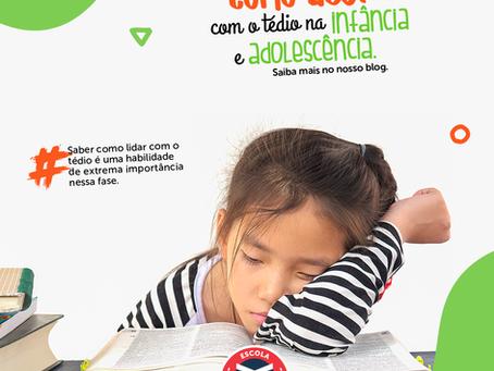 Como lidar com o tédio na infância e adolescência | Escola Mappe