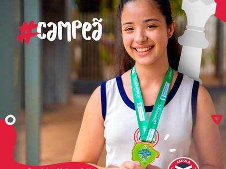Escola Mappe tem aluna campeão estadual de Xadrez | Escola Mappe
