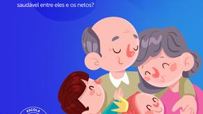 Papel dos avós: como cultivar uma relação saudável entre eles e os netos? | Escola Mappe