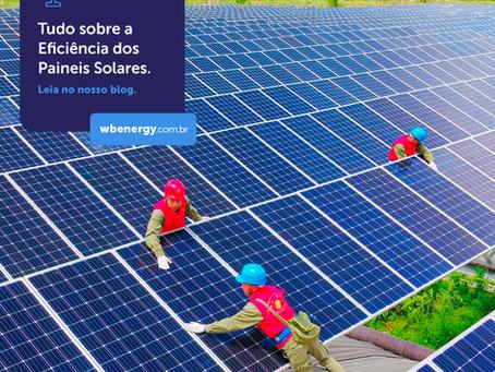 Tudo sobre a Eficiência do Painel Solar | WB Energia Solar