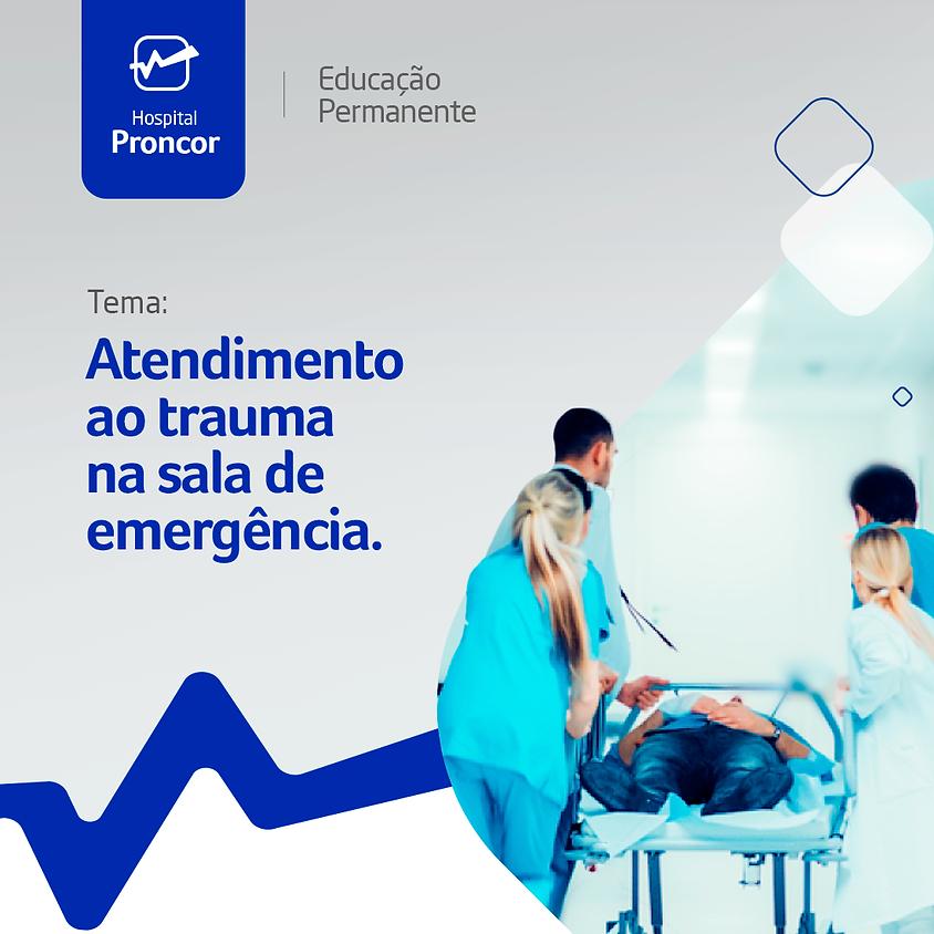 Enfermagem: Atendimento ao trauma na sala de emergência.