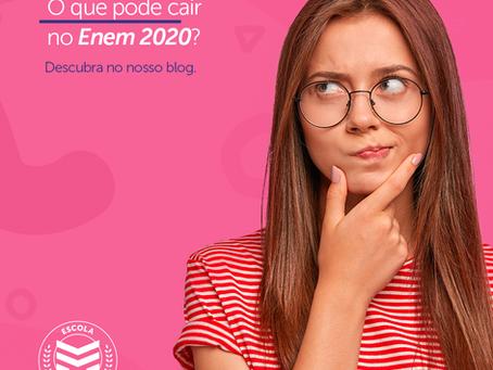 O que pode cair no Enem 2020? | Escola Mappe