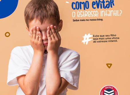 Como evitar o estresse infantil?   Escola Mappe
