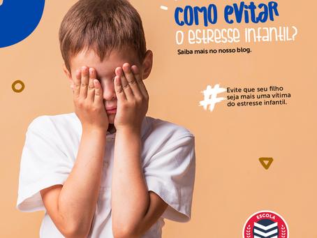 Como evitar o estresse infantil? | Escola Mappe
