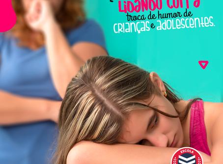 Como lidar com a troca de humor de crianças e adolescentes   Escola Mappe