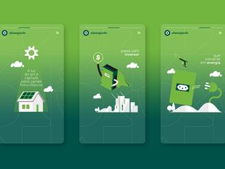 WB Energia Solar - Marca e Identidade Visual criada por José Alcânttara