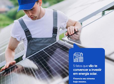 5 fatos que vão te convencer a investir em energia solar | WB Energia Solar