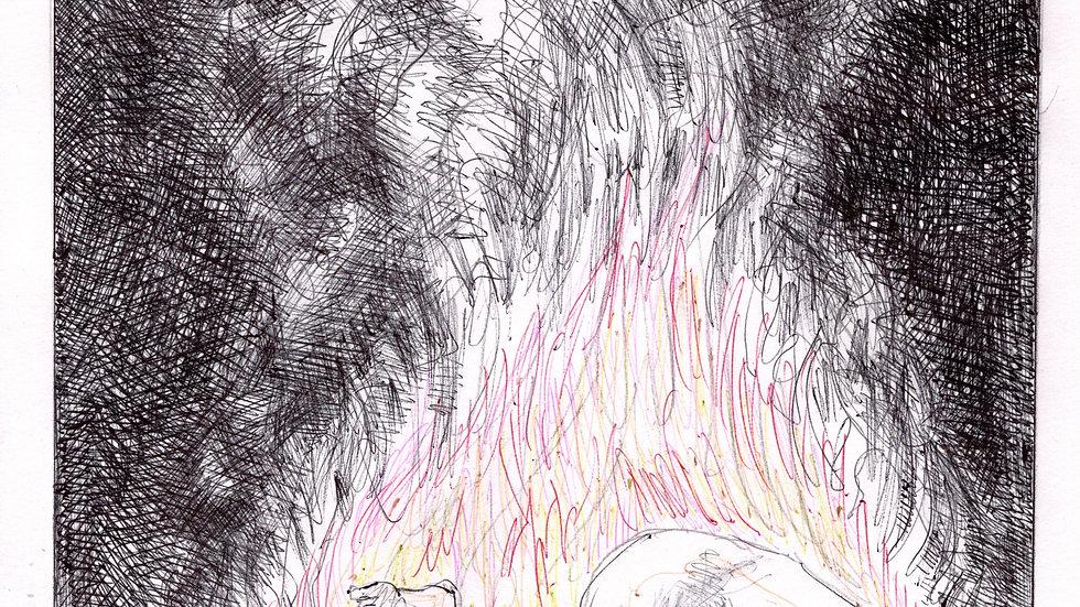 Flaming Hart