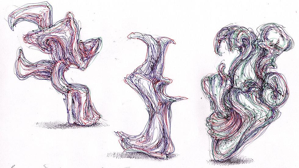 Three Biomorphs