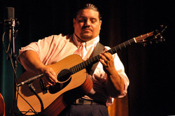 New man : Pete Prieto - guitar