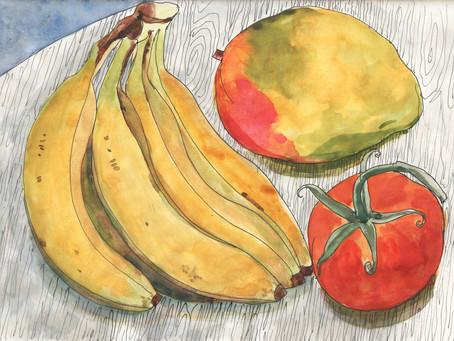 Daily Sketch Show - Fruits