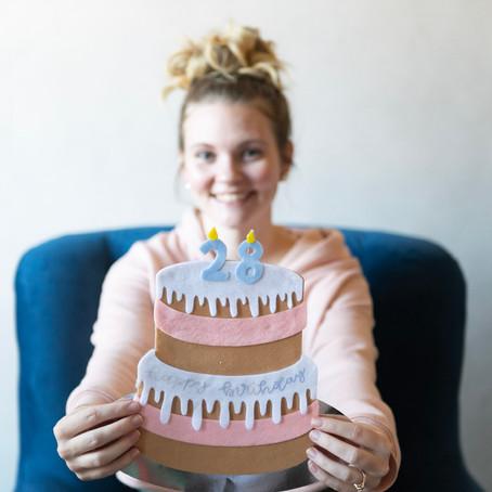 Birthday Cake Cricut Project