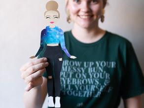 Paper Doll Cricut Project
