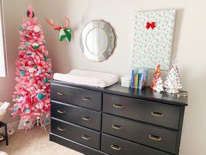 Easy Kids' Room Decor - 12 DIYs of Christmas
