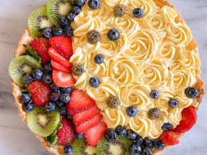 Easy and Impressive Fresh Fruit Tart